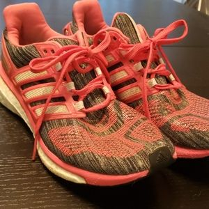 Adidas Energy Boost coral/gray 9